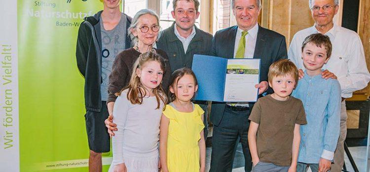Landesnaturschutzpreis 2019 für unseren Kindergarten